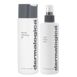 Dermalogica Special Cleansing Gel 250ml & Multi-Active Toner 250ml Duo