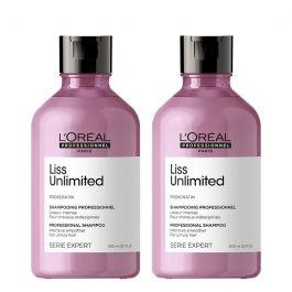 L'Oréal Professionnel Serie Expert Liss Unlimited Shampoo 300ml Double