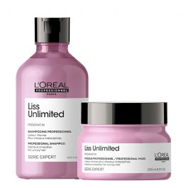 L'Oréal Professionnel Serie Expert Liss Shampoo 300ml and Masque 250ml Duo