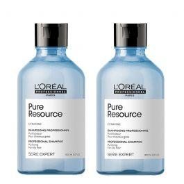 L'Oréal Professionnel Serie Expert Scalp Pure Resource Shampoo 300ml Double