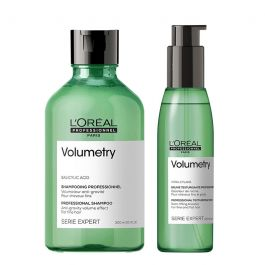 L'Oréal Professionnel Serie Expert Volumetry Volume Shampoo 300ml and Spray 150ml Duo