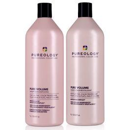 Pureology Pure Volume Shampoo 1000ml & Conditioner 1000ml Duo